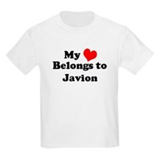 My Heart: Javion Kids T-Shirt