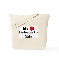 My Heart: Yair Tote Bag