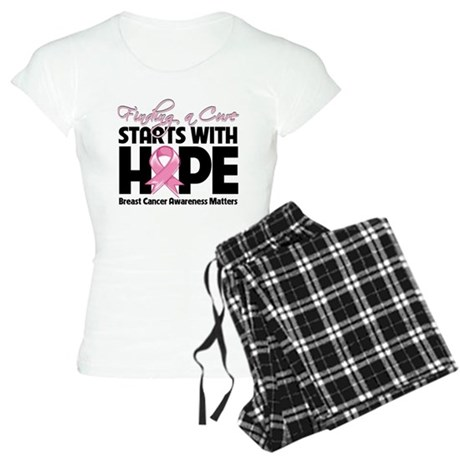 Cure Hope Breast Cancer Women's Light Pajamas