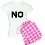 No Means No pajamas