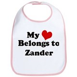 My Heart: Zander Bib
