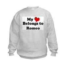 My Heart: Romeo Sweatshirt