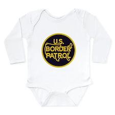 Border Patrol Long Sleeve Infant Bodysuit