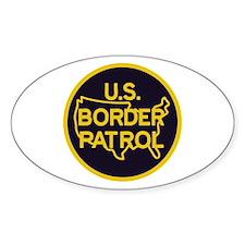 Border Patrol Decal