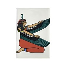 Egyptian Goddess Maat Rectangle Magnet (10 pack)