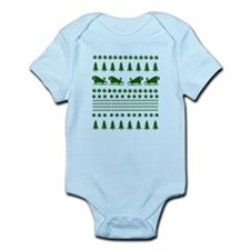 Ugly Christmas Sweater Infant Bodysuit