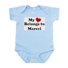 My Heart: Marcel Infant Creeper