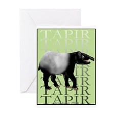 Tapir t-shirt Greeting Card