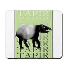 Tapir t-shirt Mousepad