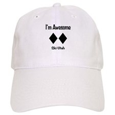 I'm Awesome Ski Utah Baseball Cap