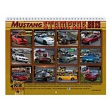 2013 Mustang STAMPEDE Wall Calendar