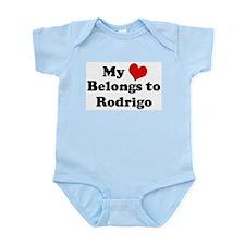 My Heart: Rodrigo Infant Creeper