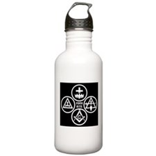 York Rite Quad Water Bottle