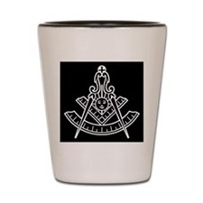 Masonic Past Master Shot Glass
