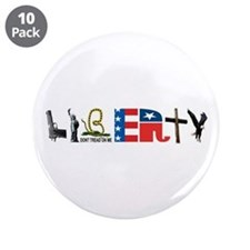 "Liberty 3.5"" Button (10 pack)"