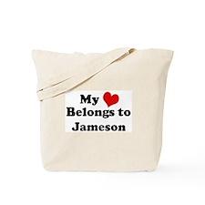 My Heart: Jameson Tote Bag