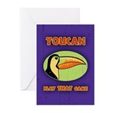 Toucan Play THAT Game Greeting Cards (Pk of 10)