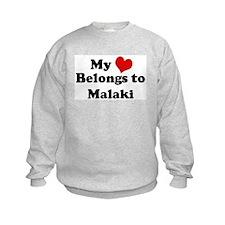 My Heart: Malaki Sweatshirt