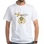 Shriners White T-Shirt