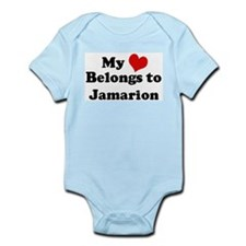My Heart: Jamarion Infant Creeper
