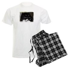 "Men's ""I Need Caffeine"" Cat Pajama Set"
