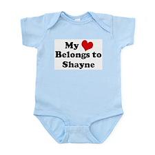 My Heart: Shayne Infant Creeper