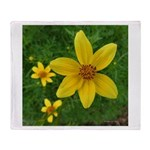 .coreopsis. Throw Blanket
