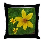 .coreopsis. Throw Pillow