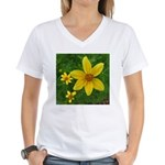 .coreopsis. Women's V-Neck T-Shirt