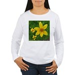 .coreopsis. Women's Long Sleeve T-Shirt