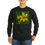 .coreopsis. Long Sleeve Dark T-Shirt