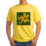 .coreopsis. Yellow T-Shirt