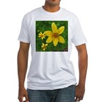 .coreopsis. Fitted T-Shirt