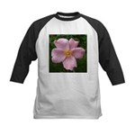 .light pink rose. Kids Baseball Jersey