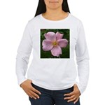.light pink rose. Women's Long Sleeve T-Shirt