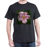 .light pink rose. Dark T-Shirt