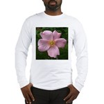 .light pink rose. Long Sleeve T-Shirt