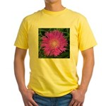 .stoke's aster. Yellow T-Shirt