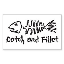 Catch and Fillet Decal
