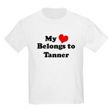 My Heart: Tanner Kids T-Shirt