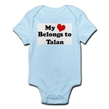 My Heart: Talan Infant Creeper