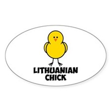 Lithuanian Chick Decal
