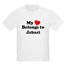 My Heart: Jabari Kids T-Shirt