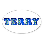 Terry Sticker (Oval)