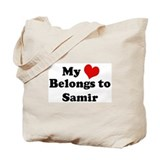 My Heart: Samir Tote Bag