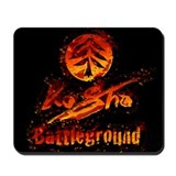KoSho Battleground Flame Mousepad
