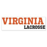Virginia Lacrosse Bumper Stickers