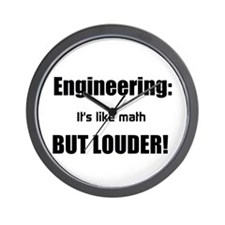 Unique Engineering technician Wall Clock