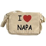 I heart napa Messenger Bag
