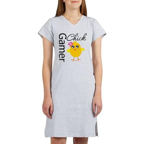 Gamer Chick Women's Nightshirt